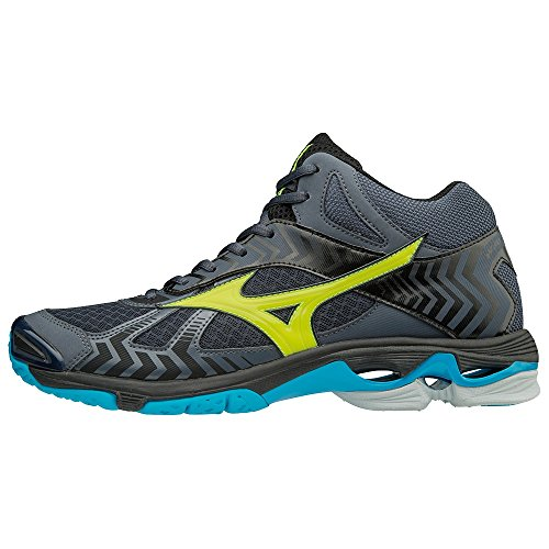 Sneakers Multicolore Homme MD Wave Bolt Oblue Basses Syellow 7 Mizuno 001 Hocean YA70IOwqY