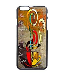 Coffee House Pattern Hard Durable Cover Case for Apple iphone 5C -inches