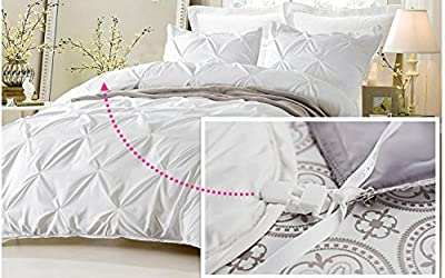 Duvet Clips and Sheet Fasteners- Complete Sleep Tight Bedding System- Includes Duvet Insert Clips, Pin Ties, and Sheet Snugs