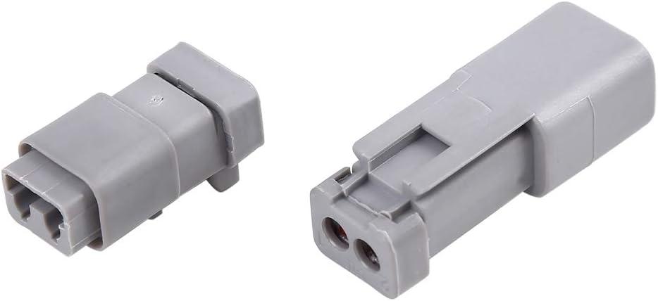 X AUTOHAUX 2-poliger Auto-Anschlussstecker DT04-2P DT06-2S Set
