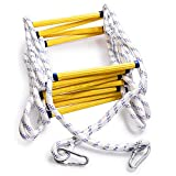 Best Emergency Fire Escape Ladders - Aoneky Fire Escape Rope Ladder - Flame Resistant Review