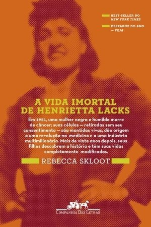 Books : A Vida Imortal de Henrietta Lacks