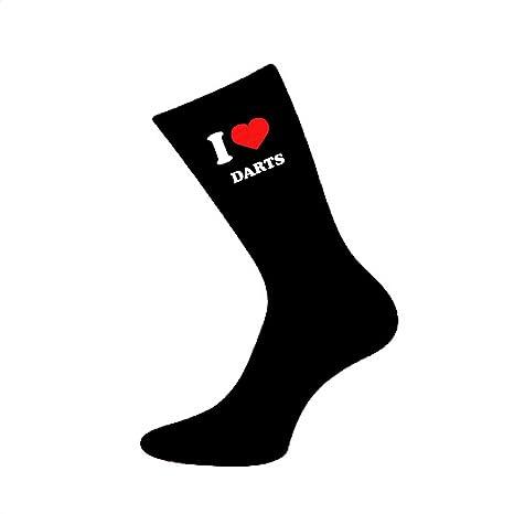 Mens I Love Cycling Picture Design Socks UK 5-12