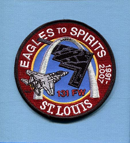 Embroidered Patch-Patches for Women Man- 131st FW Mcdonnell, used for sale  Delivered anywhere in USA
