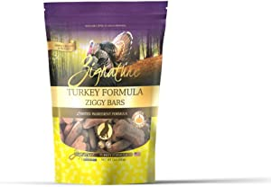 Zignature Limited Ingredient Formula Ziggy Bars Biscuit Dog Treats, 12-oz bag