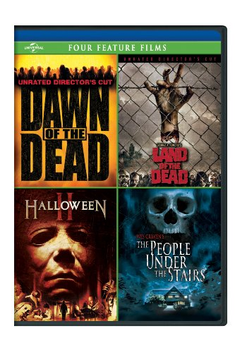 Dawn of the Dead / George A. Romero's Land of the Dead / Halloween II / The People Under the Stairs Four Feature Films]()