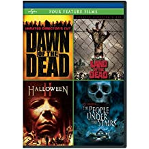 Dawn of the Dead/George A. Romero's Land of the Dead/Halloween II/The People Under the Stairs Four Feature Films