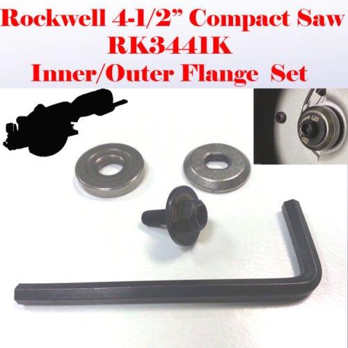 Outer & Inner Flange Lock Blade Bolt Key for Rockwell 4-1/2