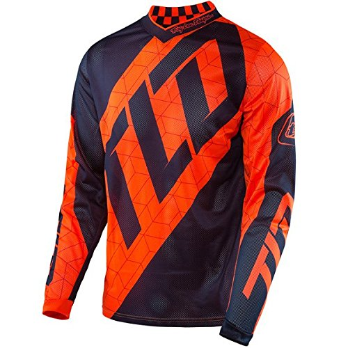 Troy Lee Designs - GP Air Quest Pant Orange & Navy Jersey Pant Combo SMALL/ 28W