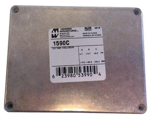 Hammond 1590C Aluminum Diecast Case