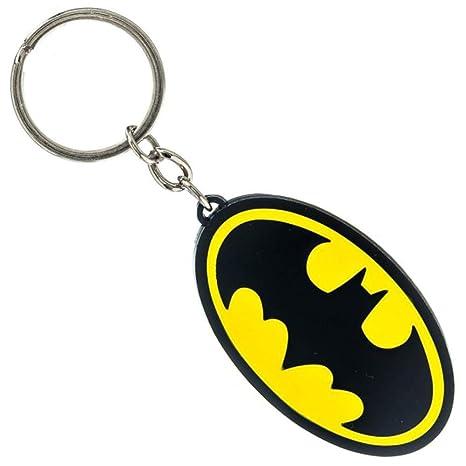 Batman,DC Comics,Superman Llavero, Amarillo (Amarillo) - BWI-KE1TWKBTM