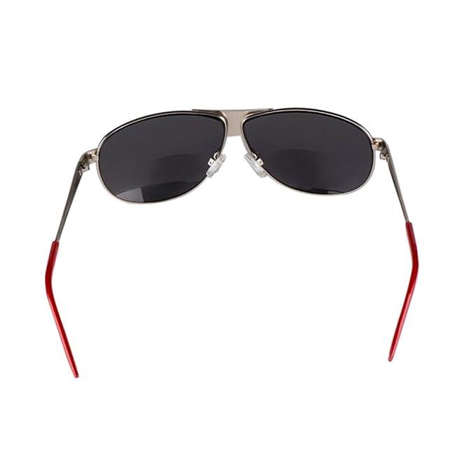 Deylaying Moda Annata Raddoppiare lente Occhiali da lettura Occhiali da sole Per Donna Uomo Gradazione +1.00 +1.50 +2.00 +2.50 +3.00 +3.50 lRW82iY