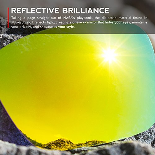 Revant Lenses for Oakley Half Jacket XLJ Polarized 24K Gold AF