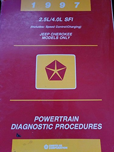 1997 Powertrain Diagnostic Procedures Jeep Cherokee Wrangler 81-699-96095 (Jeep Cherokee Dodge Chrysler)