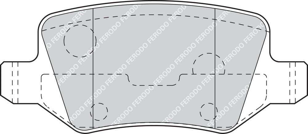 Freno A Disco - Premier Kit Pastiglie Freno Ferodo FDB4182 confezione 4 pezzi
