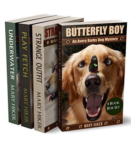 Avery Barks Dog Mystery Series Boxed Set (Books 1 - 4) (Avery Barks Dog Mysteries) cover