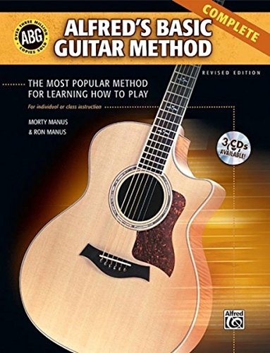 Alfreds Basic Guitar Method, Complete Alfreds Basic Guitar ...