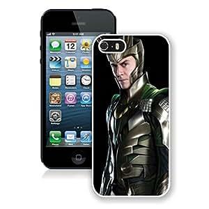 Thor Loki Case For iPhone 5S/5 White