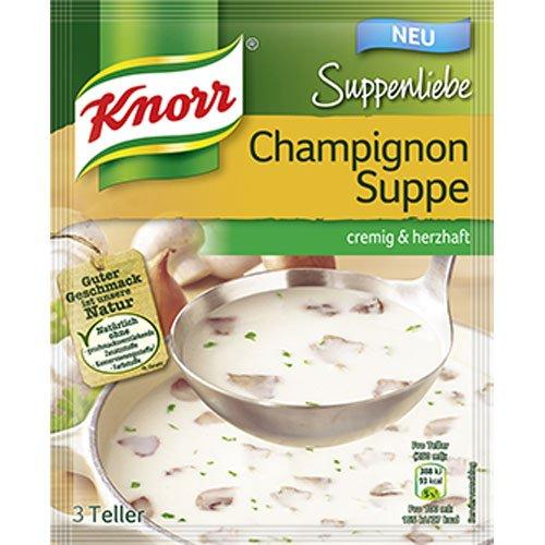Knorr- Champignon Suppe 58g (Mushroom Soup) (Soup Mushroom Knorr)