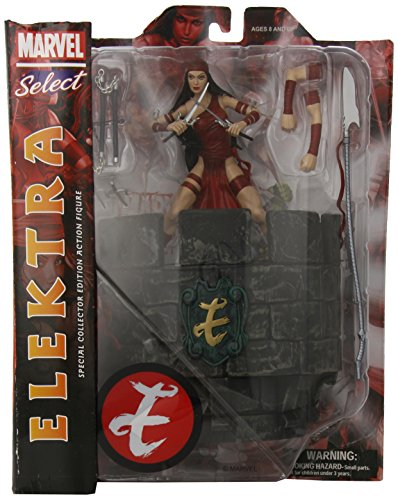 Diamond Select Toys Marvel Select Elektra Action Figure