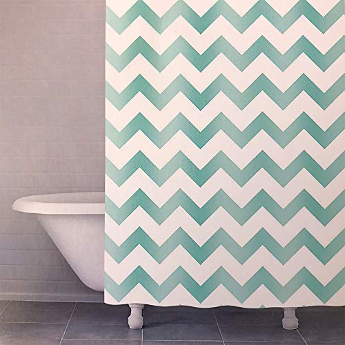 - Arkwright Designer Fabric Shower Curtain  100% Cotton, Washable, Mold and Mildew Resistant  72