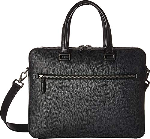 Salvatore Ferragamo Men's Revival Briefcase w/Shoulder Strap Grigio One Size
