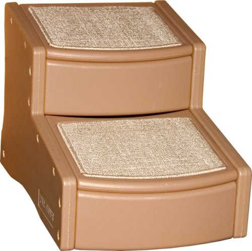 Pet Gear Easy Step II Pet Stairs, 2-step/for Cats and Dogs up to 75-pounds, Light Cocoa, My Pet Supplies