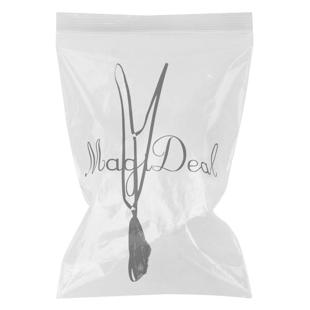 558b6fda64 MagiDeal Mens Borat Bodysuit Mankini Thong Bikini Underwear Costume Fancy  Dress - Black: Amazon.co.uk: Clothing