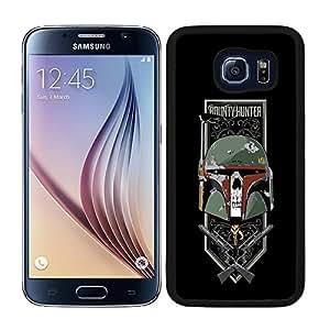 Funda carcasa para Samsung Galaxy S6 diseño Boba fondo negro SW borde negro