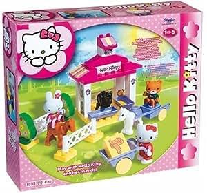 Big Bloxx Hello Kitty- Establo para ponny con personajes de Hello kitty