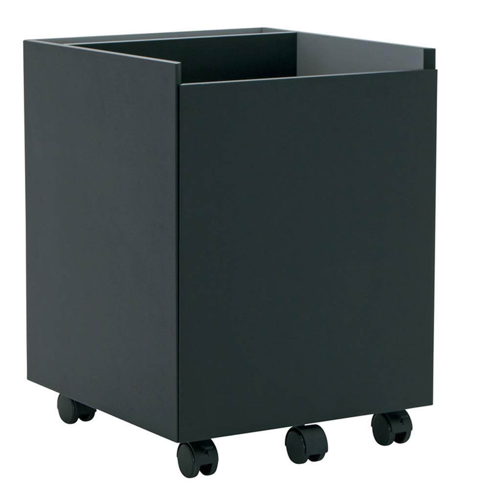 Calico Designs Niche Mobile File Cabinet, Black by Calico Designs