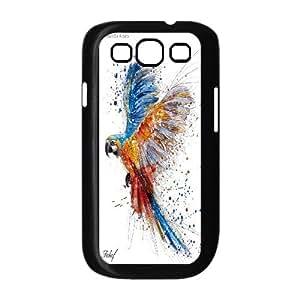 Unique Phone Case Design 6Funny Parrot,Cute Bird- For Samsung Galaxy S3