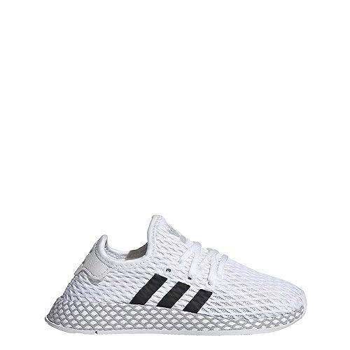 best online fresh styles lowest price adidas Unisex-Kinder Deerupt Runner C Fitnessschuhe