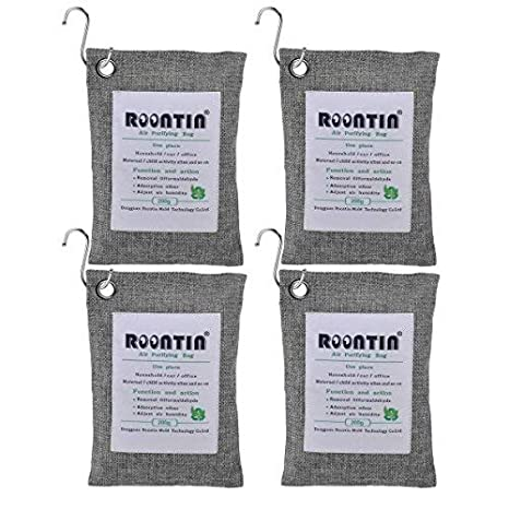 Amazon.com: Roontin Bolsa purificadora de aire, ambientador ...