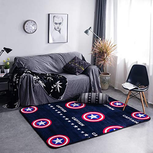 Nordic Style Type Printing Carpet Hallway Doormat Anti-Slip Bathroom Rug Absorb Water Kitchen Mat,Carpet for Living Room Decor ()