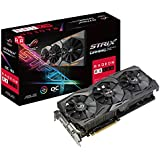 Placa de Vídeo Asus Radeon ROG Strix RX 580 OC Gaming 8GB GDDR5 256bits