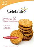 Celebrate Protein 20 – Peanut Butter Cookie – 15 Servings For Sale