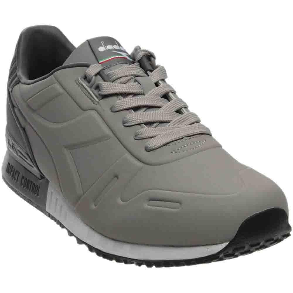 Diadora Titan N 2 Skateboarding Shoe, Ash Steel Gray, 5 M US