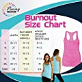 Womens Funny Gym Burnout Tank Top I Love Burpees Said No One Ever