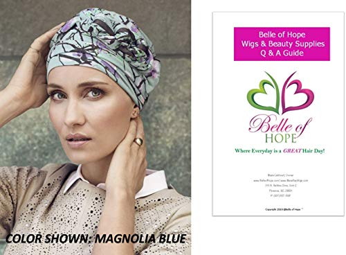 82eef21a044 Christine Headwear 2PC Bundle  Azure Printed Turban and Belle of Hope 19  Page Q
