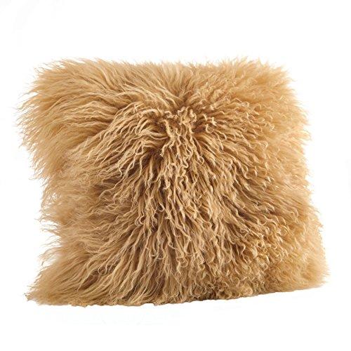 Saro LifeStyle 3564.GL16S  Mongolian Lamb Fur Down Filled...