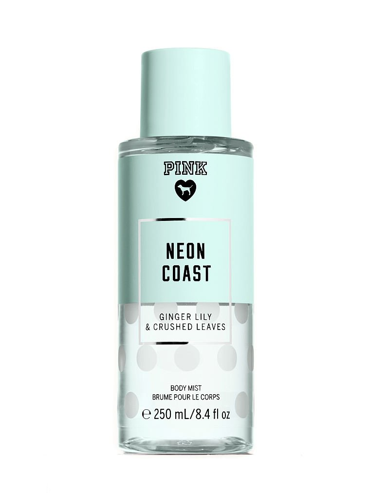 Victoria's Secret PINK Neon Coast Ginger Lily & Crushed Leaves Body Mist