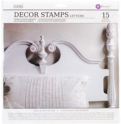 Prima Marketing IOD Decor Stamps-Letters