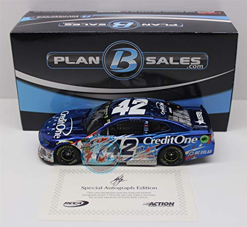 Lionel Racing Kyle Larson Autographed 2018 Credit One, used for sale  Delivered anywhere in USA