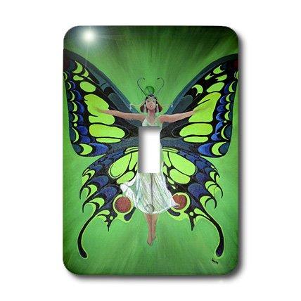 3d Rose 3dRose LLC lsp_18251_1 Mythology Fairy Flutter by...