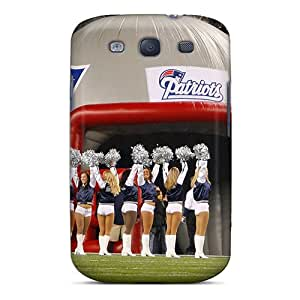 New Diy Design New England Patriots Cheerleaders For Galaxy S3 Cases Comfortable For Lovers And Friends For Christmas Gifts