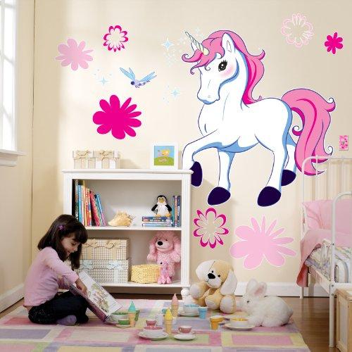Enchanted Unicorn Room Decor - Giant Wall