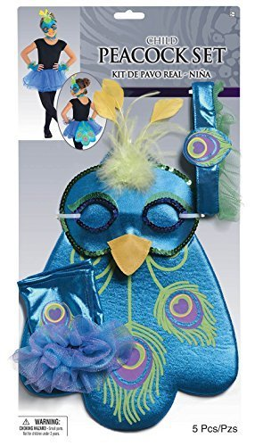 Child Costume Accessory Set - (Peacock Costumes Accessories)