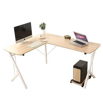 amazon com soges 56 l shaped desk computer desk corner desk