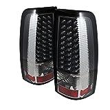 Spyder Auto ALT-ON-CS03-LED-BK Chevy Silverado 1500/2500/3500 and GMC Sierra 1500/2500/3500 Black LED Tail Light